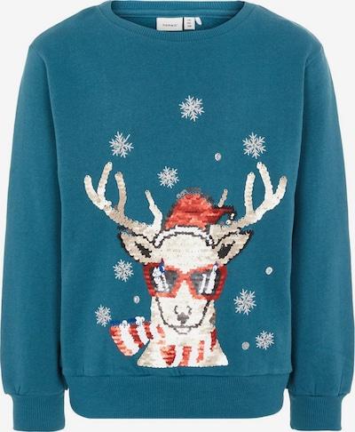 NAME IT Sweatshirt in pastellblau / mischfarben, Produktansicht