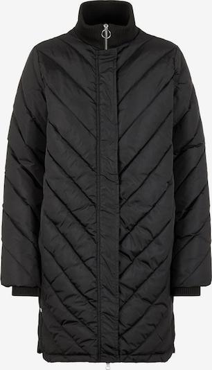 Y.A.S Winterjas in de kleur Zwart, Productweergave