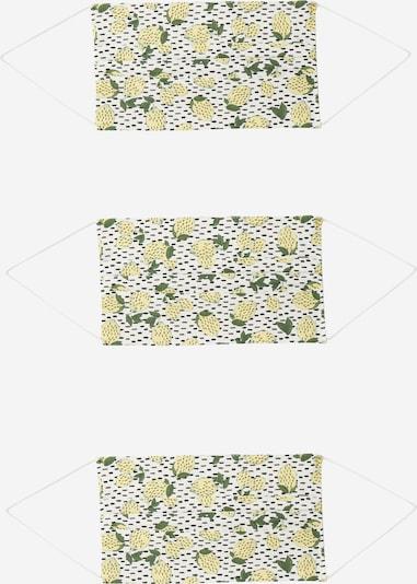 ONLY Näomask '3er Pack ONLCOMMUNITY' kollane / valge, Tootevaade