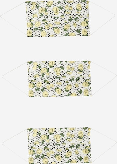 ONLY Pañuelo '3er Pack ONLCOMMUNITY' en amarillo / blanco, Vista del producto