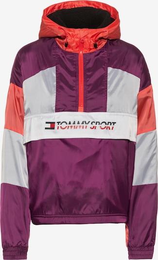 Tommy Sport Windbreaker in aubergine / wollweiß, Produktansicht