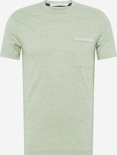 Calvin Klein Jeans T-Shirt in grün, Produktansicht