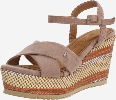 Refresh Sandale in taupe, Produktansicht