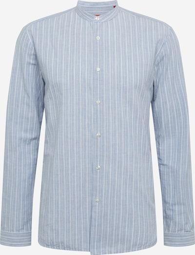 HUGO Srajca 'Edison-W' | modra / bela barva, Prikaz izdelka