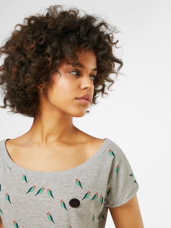 naketano T-Shirt 'Wolle Doofmann'