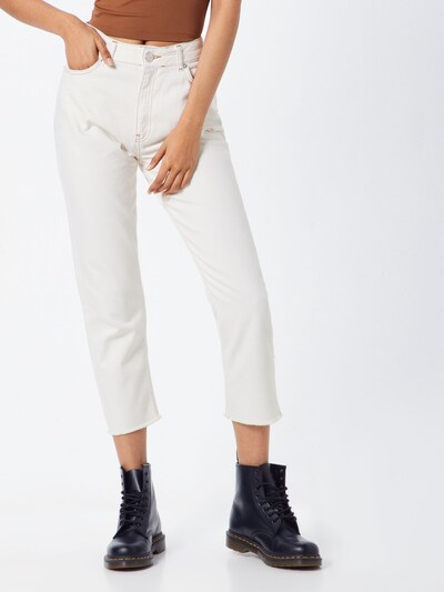 ABOUT YOU Jeans 'Charlotte' in white denim, Modelansicht