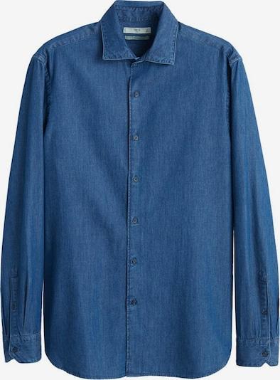 MANGO MAN Hemd 'Chambre' in blue denim, Produktansicht