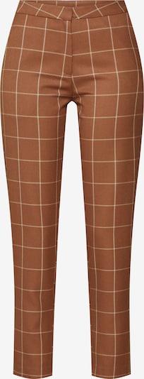 Kelnės 'Janis' iš NORR , spalva - ruda: Vaizdas iš priekio