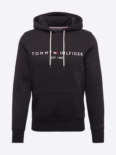 TOMMY HILFIGER Sweater majica u crna / bijela, Pregled proizvoda