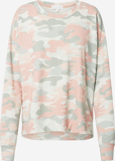 PJ Salvage Shirt 'Camo in Color' in beige / oliv / rosa, Produktansicht