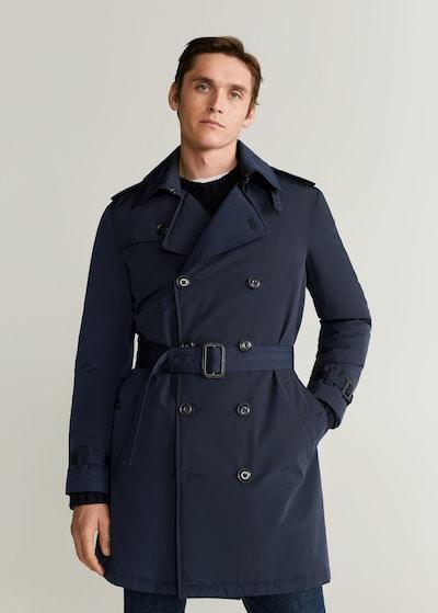 MANGO MAN Trenchcoat in navy, Modelansicht
