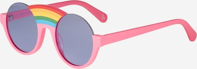 Stella McCartney Zonnebril 'SK0058S 46 KID ACETATE' in de kleur Violetblauw / Pink, Productweergave