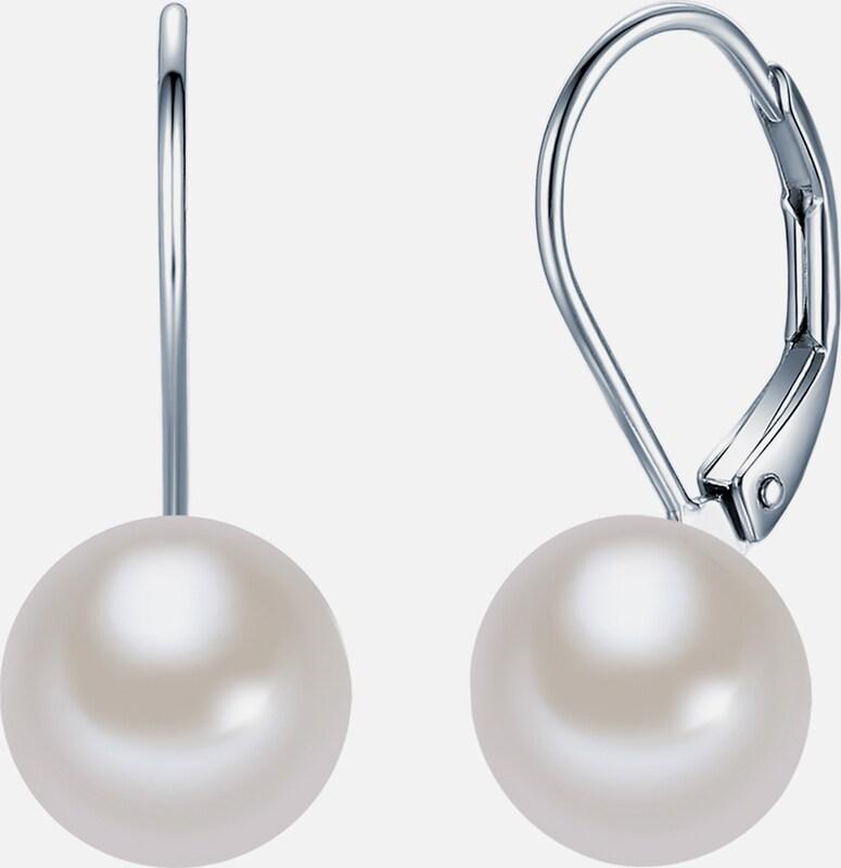 Valero Pearls Silber-Ohrhänger mit Süßwasser-Zuchtperlen
