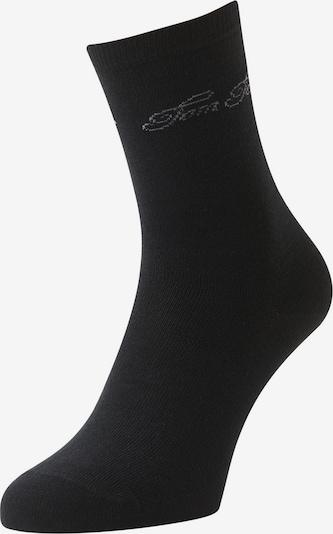 TOM TAILOR Socken in hellgrau / schwarz, Produktansicht