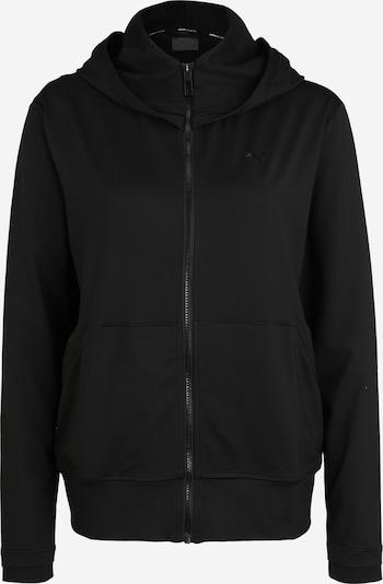 PUMA Sweatjacke 'Studio Yogini' in schwarz, Produktansicht