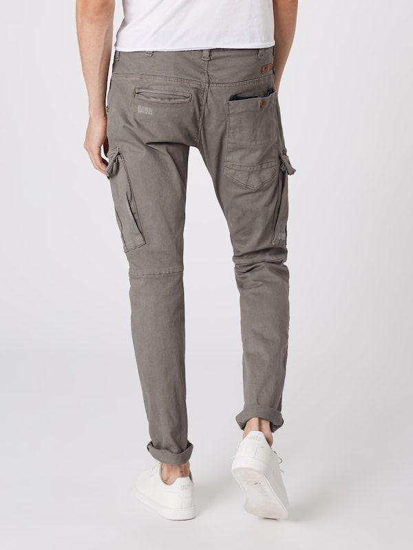 Jeans En Indicode Pantalon Cargo 'connaught' Gris roCxBeWQdE