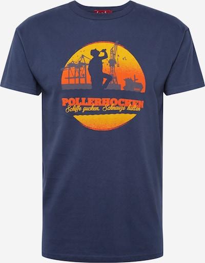 Derbe Shirt 'Pollerhocken OC' in navy, Produktansicht