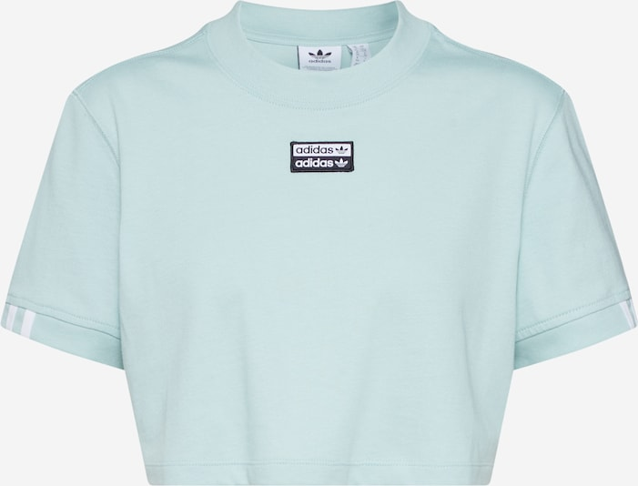 ADIDAS ORIGINALS Shirt in de kleur Aqua, Productweergave