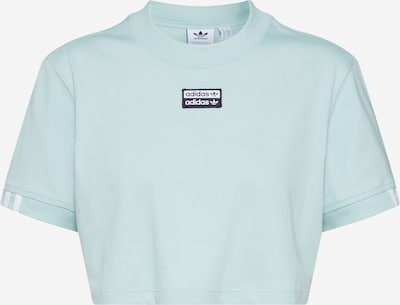 ADIDAS ORIGINALS Shirt 'TEE CROPPED' in aqua, Produktansicht
