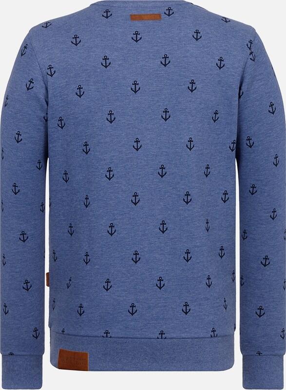 naketano Sweatshirt 'Fuck being modest'