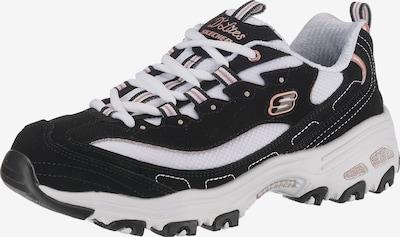 SKECHERS Sneaker 'D'lites Devoted Fan' in schwarz / weiß, Produktansicht