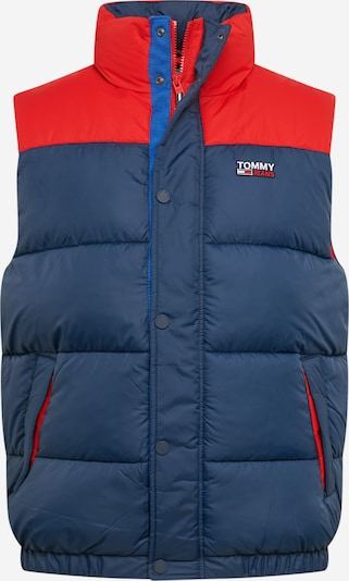 Tommy Jeans Weste in navy / rot, Produktansicht