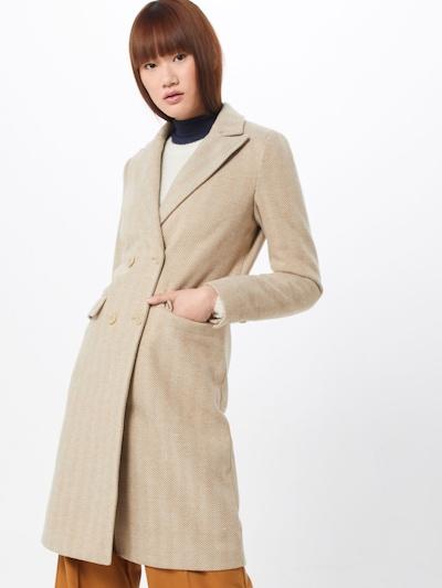 Fashion Union Manteau mi-saison 'TONEY' en beige, Vue avec modèle
