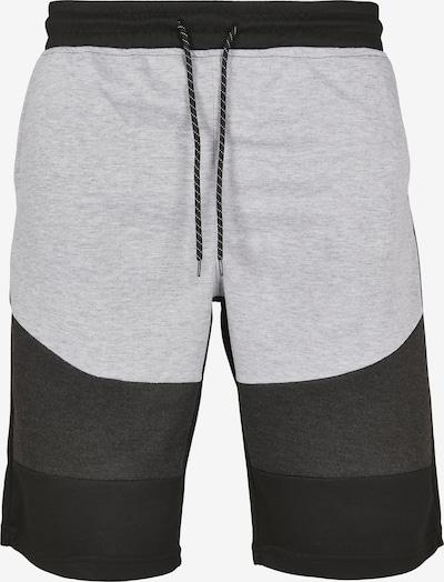 SOUTHPOLE Shorts in hellgrau / graumeliert / schwarz, Produktansicht
