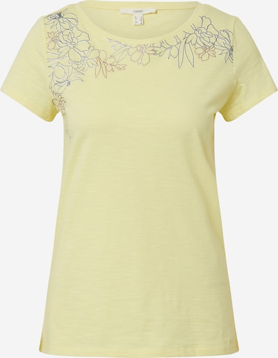 ESPRIT Shirt in zitrone, Produktansicht