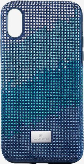 Swarovski Smartphonehülle in blau / cyanblau / weiß, Produktansicht