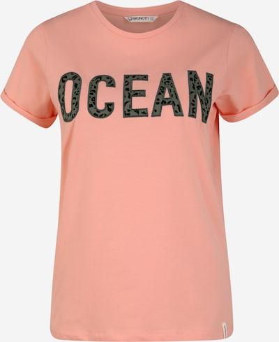 Tricou funcțional 'Oulinas' BRUNOTTI pe verde / roz, Vizualizare produs