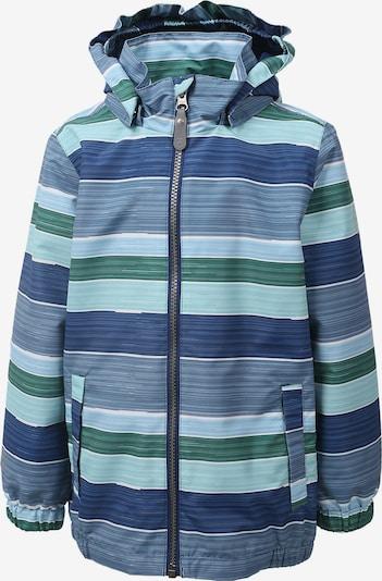 COLOR KIDS Funktionsjacke 'Edmund' in blau / rauchblau / smaragd, Produktansicht