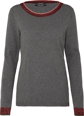 SCOTCH & SODA Pullover 'Basic crew neck knit with special ribs'