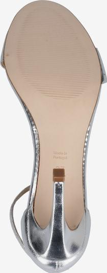 MICHALSKY FOR ABOUT YOU Sandales à lanières 'Holly sandal' en argent: Vue de dessous