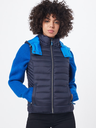 ESPRIT Weste '3M Thinsulate V' in blau / navy, Modelansicht
