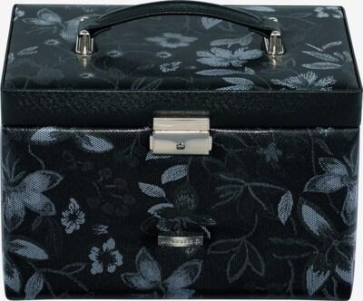 WINDROSE Schmuckkoffer in schwarz / weiß, Produktansicht