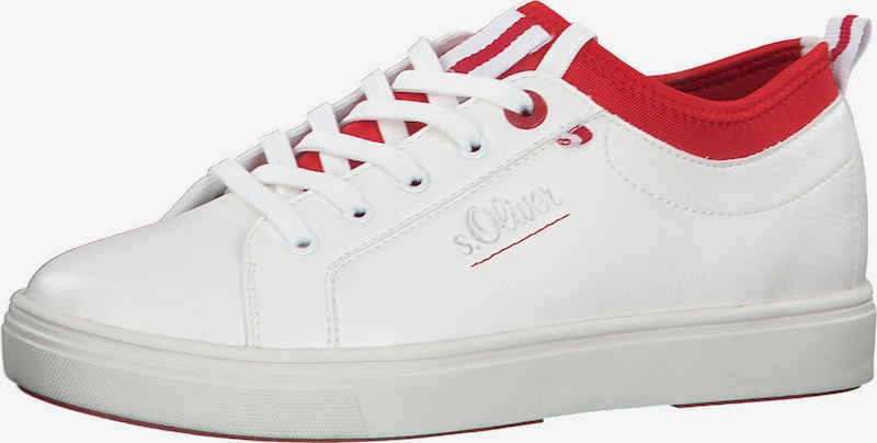 s.Oliver Sneakers laag in Wit 5F08Dfp8