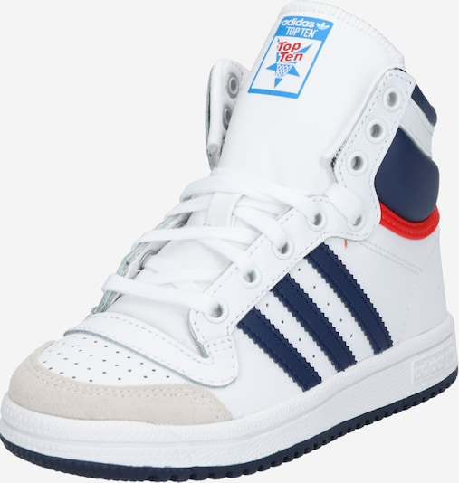 ADIDAS ORIGINALS Schuhe 'TOP TEN' in navy / rot / weiß, Produktansicht