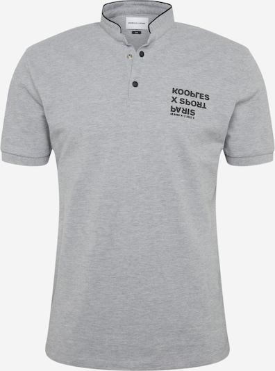 THE KOOPLES SPORT Shirt in graumeliert / schwarz, Produktansicht
