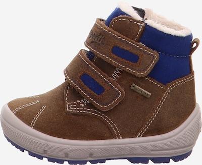SUPERFIT Stiefel in blau / braun: Seitenansicht