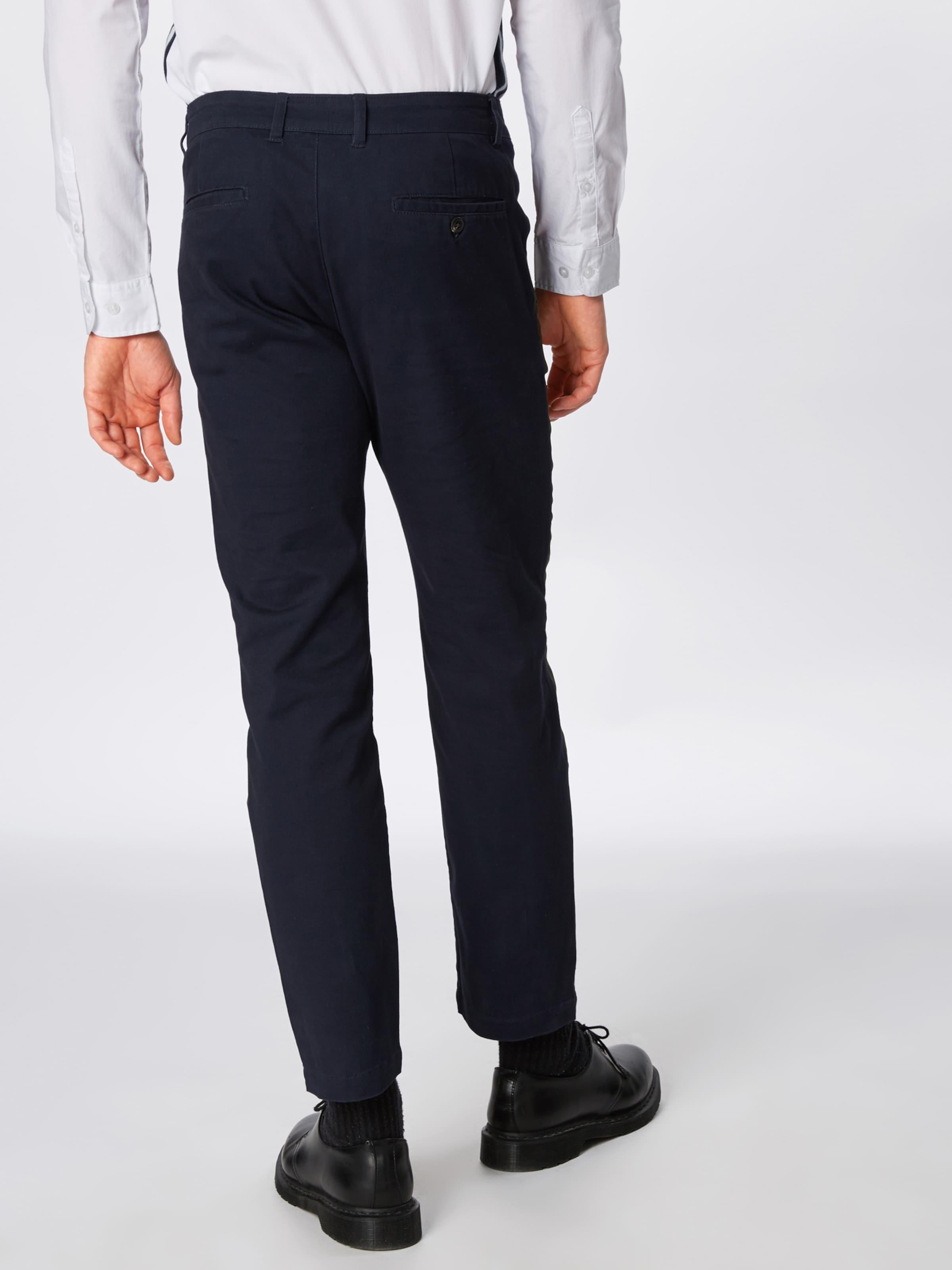 stripe Kiomi 'side En Bleu Marine Chino' Pantalon UGLqpSzMV
