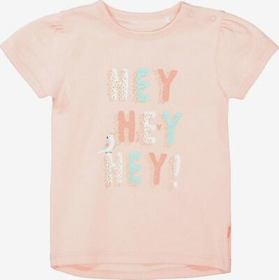 STACCATO T-Shirt in türkis / pastellorange / weiß, Produktansicht
