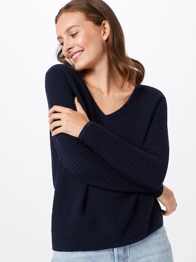 TOM TAILOR Pullover in dunkelblau, Modelansicht