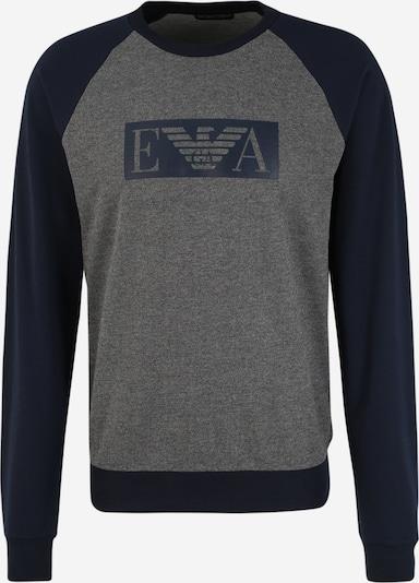 Emporio Armani Sweatshirt in de kleur Navy / Donkergrijs, Productweergave