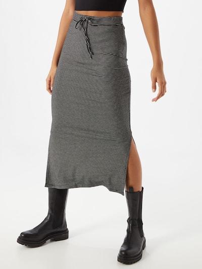 TOM TAILOR Spódnica w kolorze czarnym: Widok z przodu
