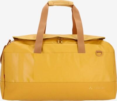VAUDE Weekendtas 'Desna 60' in de kleur Goudgeel, Productweergave