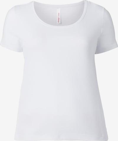 SHEEGO Majica | bela barva, Prikaz izdelka