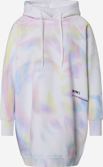 ABOUT YOU x GNTM Sweatshirts 'Havin' in rosa / offwhite, Produktansicht