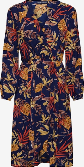 Mela London Kleit 'LONGSLEEVE AUTUMN FLORAL DRESS' meresinine, Tootevaade