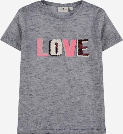 TOM TAILOR T-Shirt in graumeliert, Produktansicht